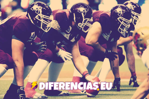 Diferencia entre rugby y futbol americano