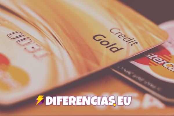 Diferencias entre tarjeta de credito y debito