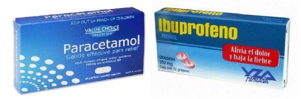 Diferencias entre Paracetamol e Ibuprofeno - Diferencias.eu